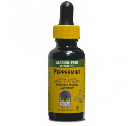 Peppermint Herb Alcohol-Free Extract 1oz.