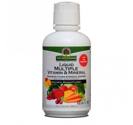 Liquid Multiple Vitamin and Mineral 16 fl. oz.