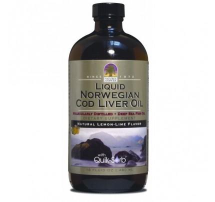 Norwegian Cod Liver Oil 16 fl. oz.