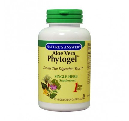 Aloe Vera Phytogel 250mg 90 Capsules