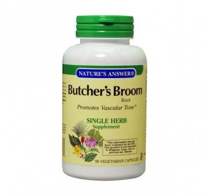 Butchers Broom Root 500mg 90 Capsules