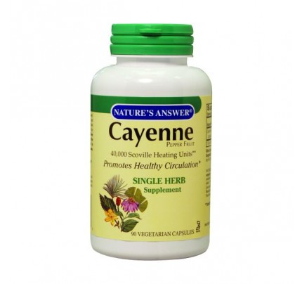 Cayenne Pepper Fruit 450mg 90 Capsules