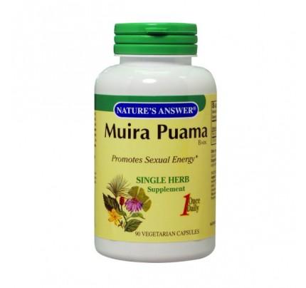 Muira Puama Bark 250mg 90 Capsules