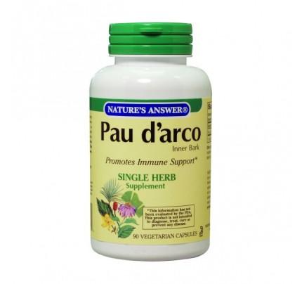 Pau D'Arco Inner Bark 500mg 90 Capsules