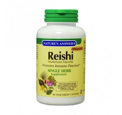 Reishi Mushroom Mycelia 500 mg 90 Vegetarian Capsules