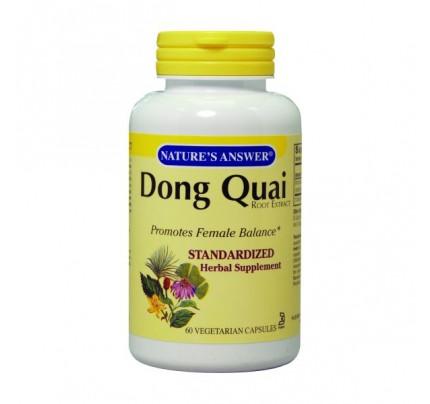Dong Quai Root Standardized 250mg 60 Vegetarian Capsules