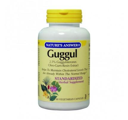 Guggul Standardized Extract 500 mg 60 Vegetarian Capsules