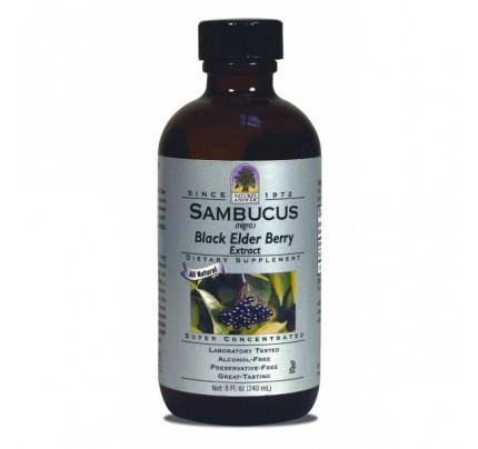 Sambucus Original-Black Elder Berry Alcohol-Free Extract 8oz.
