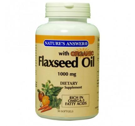 Flax Seed Oil 1,000 mg 90 Softgels