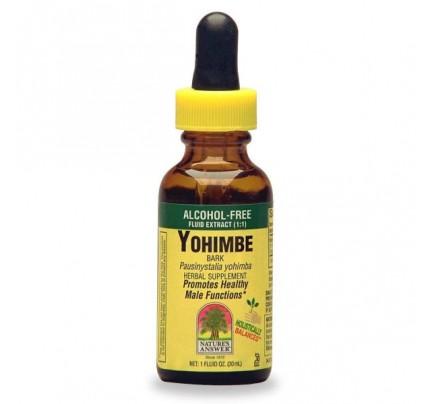 Yohimbe 1% Alcohol-Free Extract 1oz.
