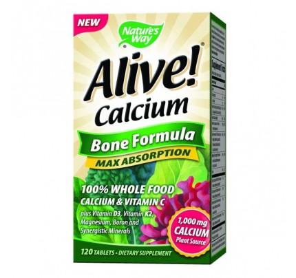 Alive Calcium Bone Formula 120 Tablets