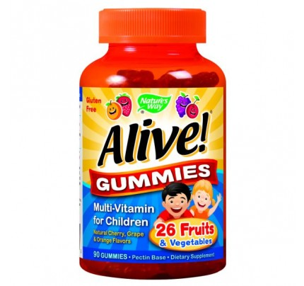 Alive! Children's Gummy Multivitamin 90 Gummies