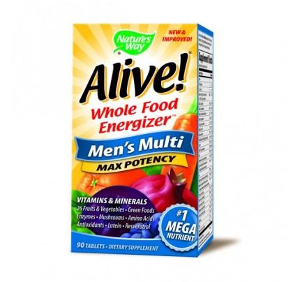Alive! Mens 90 Tablets