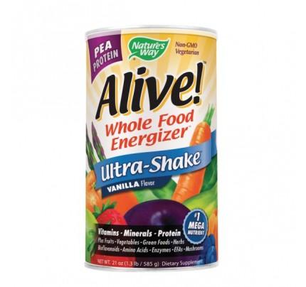 Alive!  Pea Protein Shake Powder Vanilla 1.3 lb