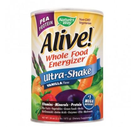 Alive! Pea Protein Shake Powder Vanilla 2.2 lb