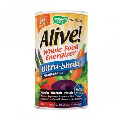 Alive! Ultra Shake Powder Vanilla 1.3 lb