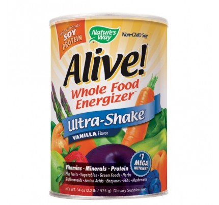 Alive! Ultra Shake Powder Vanilla 2.2 lb