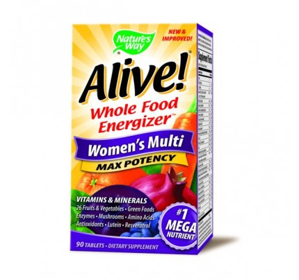 Alive! Womens 90 Tablets