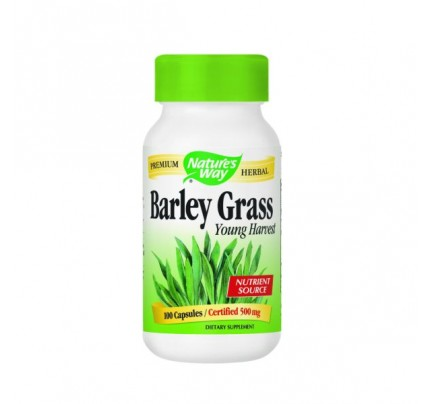 Barley Grass Young Harvest 500mg 100 Capsules