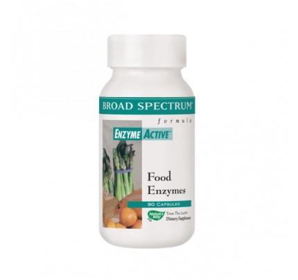 Food Enzymes Broad Spectrum 90 Capsules