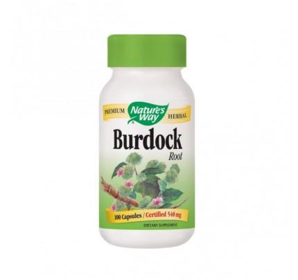 Burdock Root Organic 475mg 100 Capsules