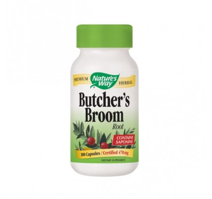 Butcher's Broom 470mg 100 Capsules