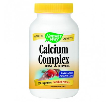 Calcium Complex Bone Formula 250 Capsules