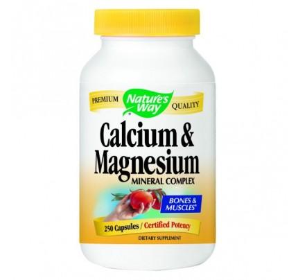 Calcium & Magnesium Mineral Complex 250mg  250 Capsules