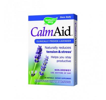 Calm Aid Silexan Lavender Essential Oil 80mg 30 Softgels