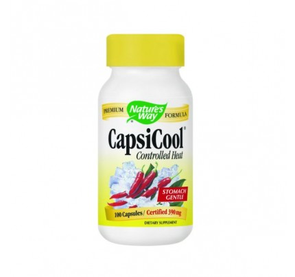 CapsiCool Controlled Heat Cayenne 390mg 100 Capsules