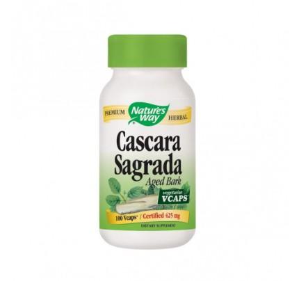 Cascara Sagrada Aged Bark 425mg 100 Vegetarian Capsules