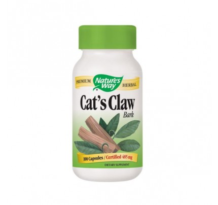 Cat's Claw Bark 485mg 100 Capsules