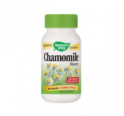Chamomile Flowers 350mg 100 Capsules
