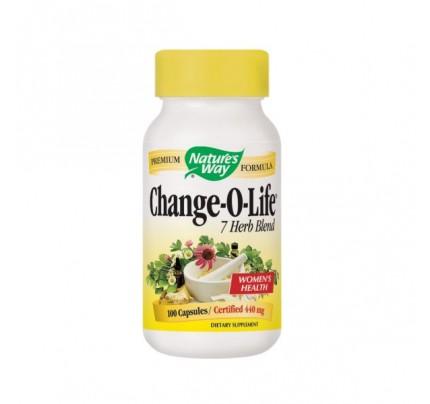 Change-O-Life 7 Herb Blend 430mg 100 Capsules