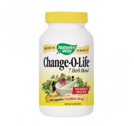 Change-O-Life 7 Herb Blend 430mg 180 Capsules