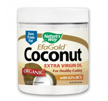 EfaGold Organic Extra Virgin Coconut Oil 16 fl. oz.