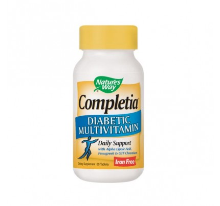 Completia Diabetic Multivitamin 60 Tablets