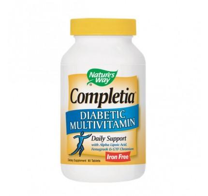 Completia Diabetic Multivitamin 90 Tablets
