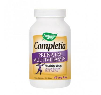Completia Prenatal Multivitamin 120 Tablets