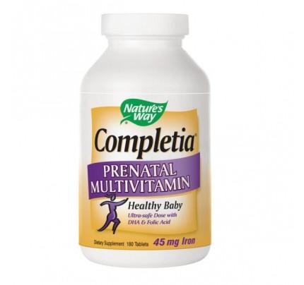 Completia Prenatal Multivitamin 180 Tablets