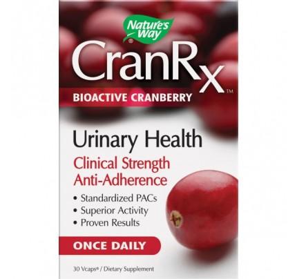 CranRX Urinary Health 500mg 30 Vegetarian Capsules