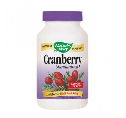 Cranberry Standardized 400mg Extract 120 Tablets