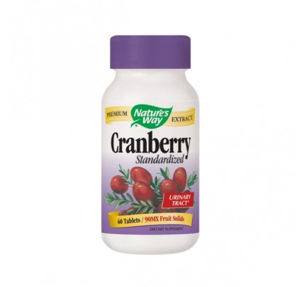 Cranberry Standardized 400mg Extract 60 Tablets