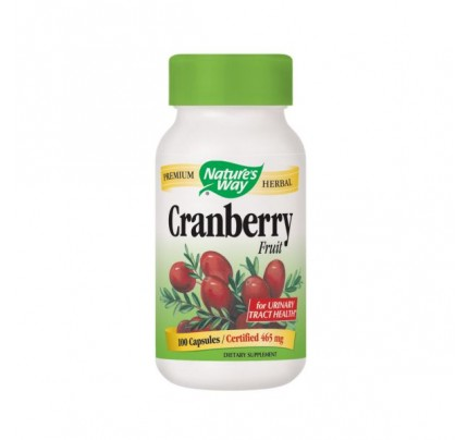 Cranberry Fruit 465mg 100 Capsules