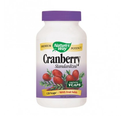 Cranberry Standardized Extract 400mg 120 Vegetarian Capsules