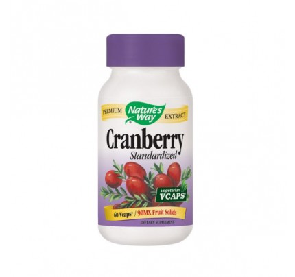Cranberry Standardized Extract 400mg 60 Vegetarian Capsules