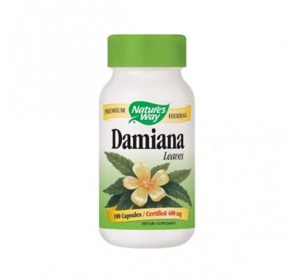 Damiana Leaves 400mg 100 Capsules