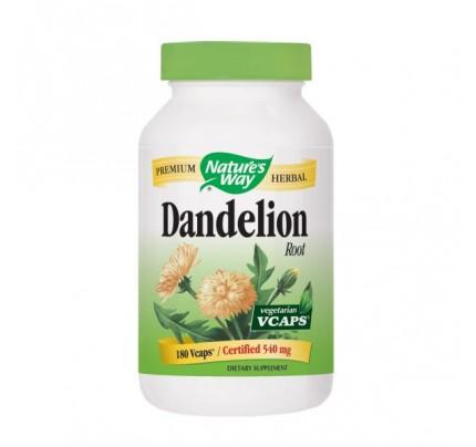 Dandelion Root 523mg 180 Vegetarian Capsules