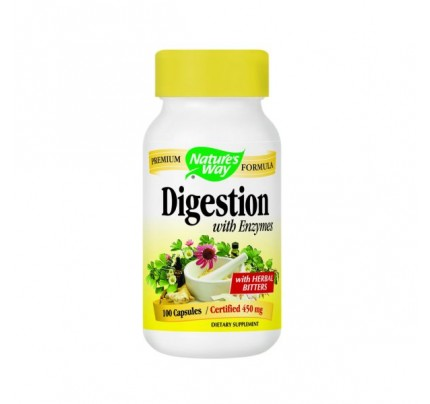 Digestion with Enzymes 100 Capsules