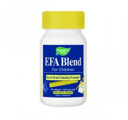 EFA Blend for Children 430mg 60 Softgels